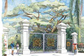 Botanic Garden Gates