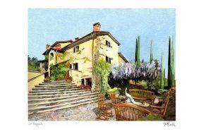 Villa Tropoli, Tuscany